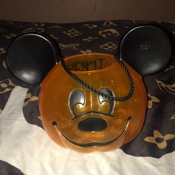 Disney Other - Disney Halloween 🎃 Mickey trick or treat bucket